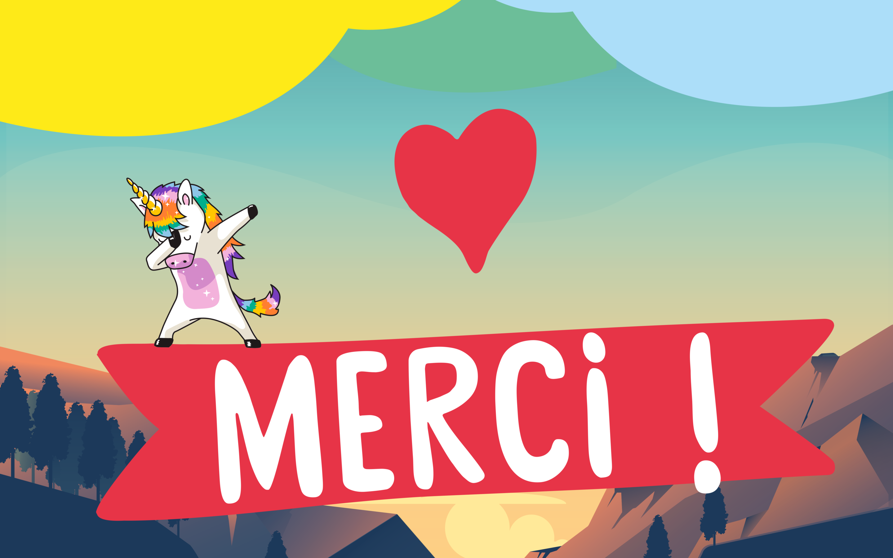 Evenement KAP - merci par licorne KAPI